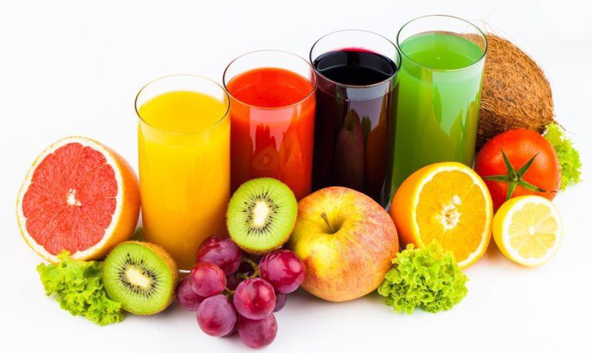 сокове от пресни плодове и зеленчуци