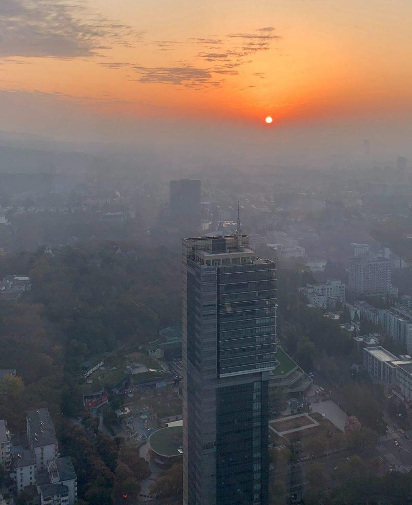 Мръсен въздух над града